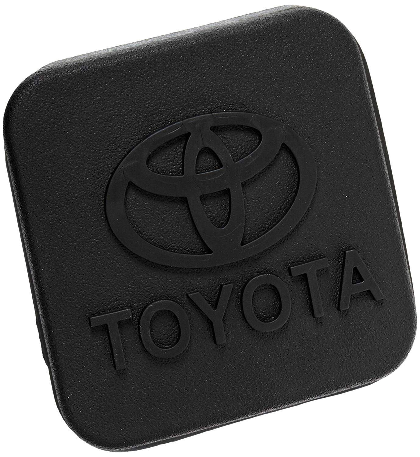 BoJie Car Trailer Hitch Cover,with Toyota Logo for Toyota Accessories PT228-35960-HP Receiver Tube Hitch Plug(Black) (for Toyota) by BoJie Car