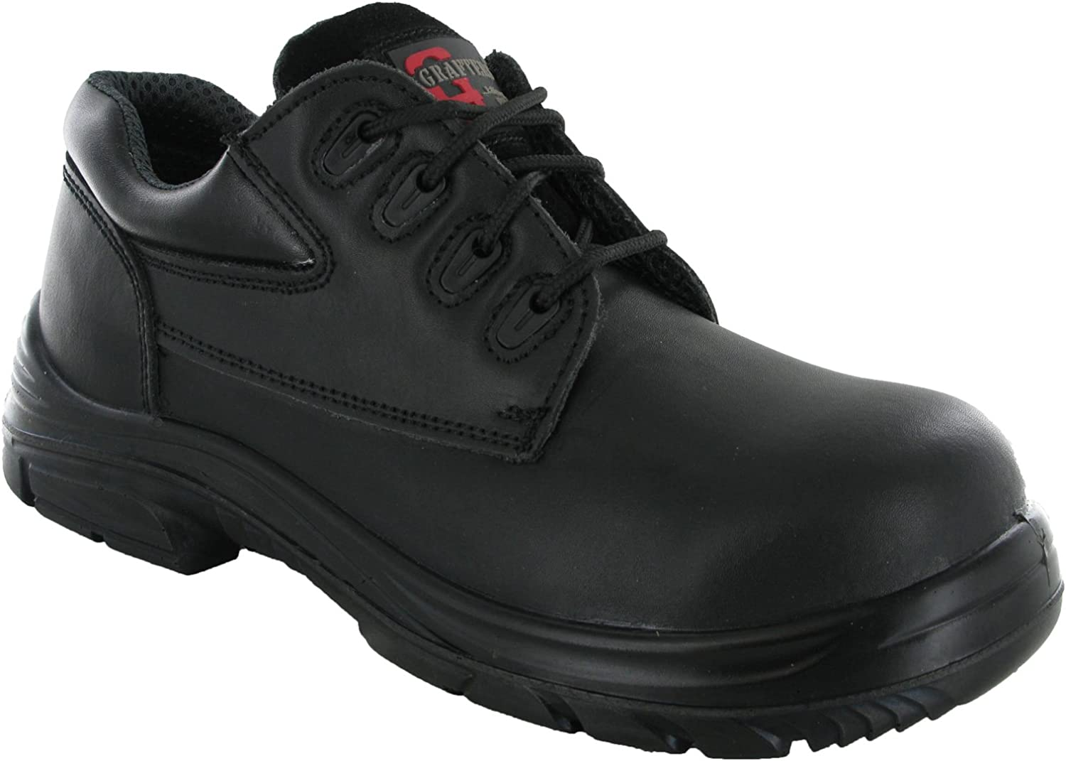grafters wide fitting safety shoes