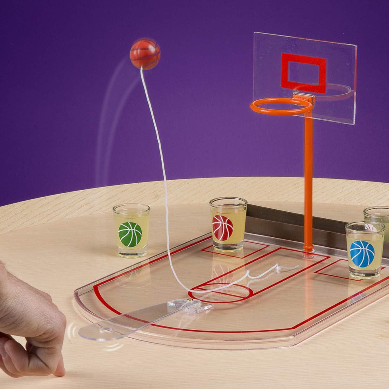 Framan Basket de Escritorio. Juego para Beber chupitos. Baloncesto ...