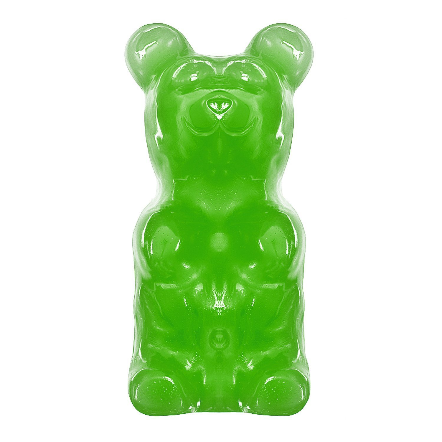 World's Largest Gummy Bear, Approx 5-pounds Giant Gummy Bear - Lime
