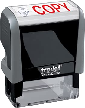 """Trodat /""""COPY/"""" Self Inking Rubber Stamp"""