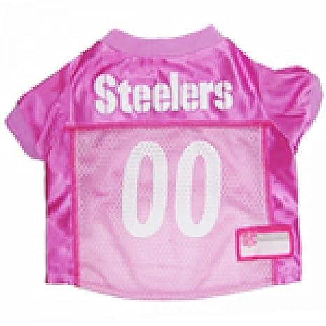 f0b8326e6 Amazon.com   NFL PITTSBURGH STEELERS DOG Jersey Pink