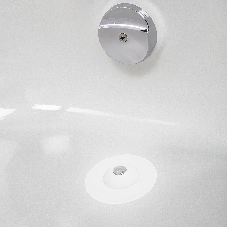 Silikon Haarsieb Badwanne Dusche Abflusssieb Spüle: Umbra Flex Badewannenstöpsel Und Haarsieb Abfluss Stöpsel