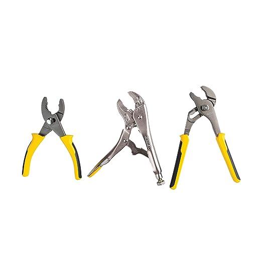 Stanley 3 Piece Pliers Set 7