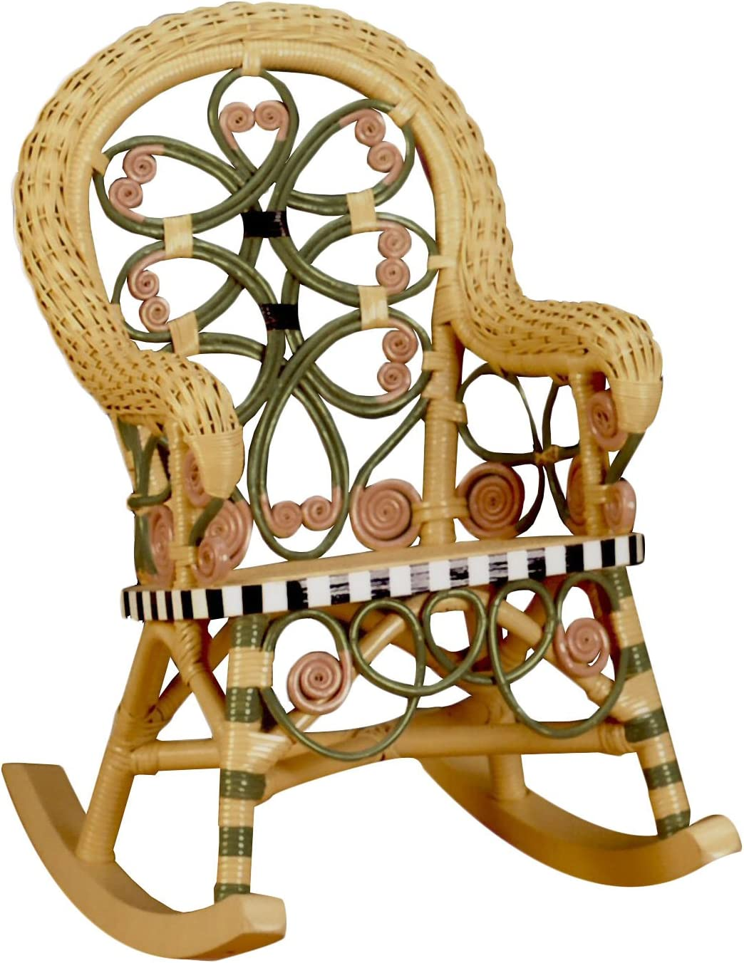 Spice Islands Victorian Child's Rocker, Carousel