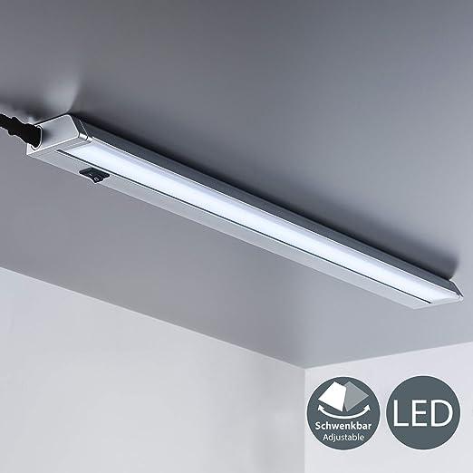 Luce LED sotto pensile cucina, luce bianca neutra 4000K, lampada moderna da  incasso per l\'illuminazione da interno, interruttore on off, plastica ...