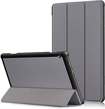 YuanZhu Lenovo Tab M10 Funda, Lenovo Tab M10 Estuches Fundas Cubierta de Cuero Carcasa para Lenovo Tab M10 Tablet de 10.1: Amazon.es: Electrónica