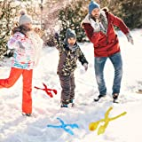 Max Fun 4 Pack Snowball Maker Snow Toy for Kids