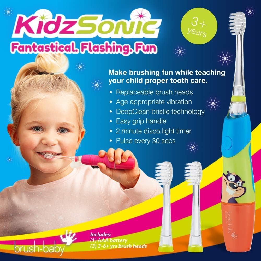 Brush-Baby kidzsonic Spazzolino Elettrico 3-6 anni