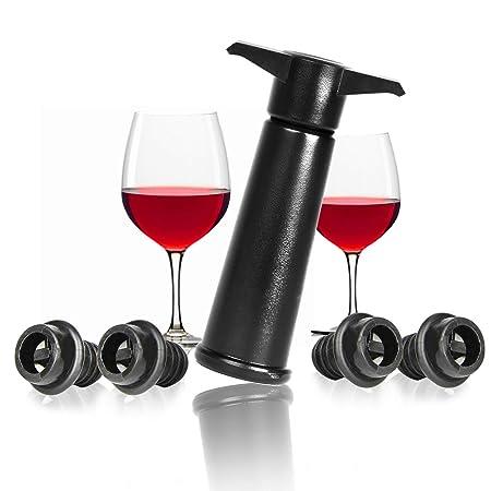 sito autorizzato elegante prezzo all'ingrosso Vacuum Wine Bottle Saver | Tappo di ossidazione per vino rosso e ...