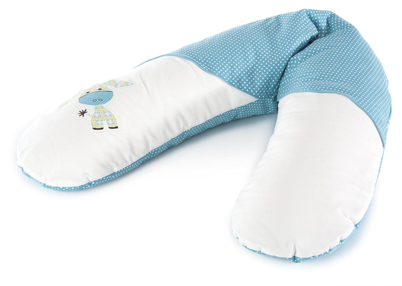 Theraline 51006903 - Cubierta de reemplazo para almohada de enfermería, 190 cm, color turquesa