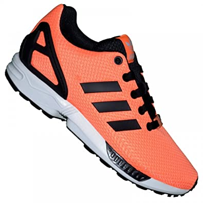 Femme Running Orange Adidas M19388 01 Zx Flux Fluo Basket LpSMjqVGUz