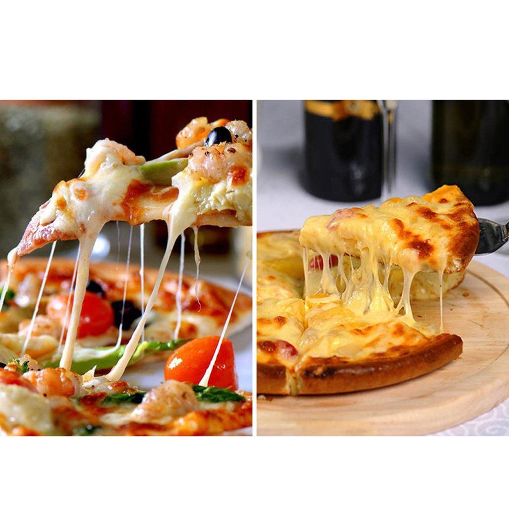 MagiDeal Pizza Schaufeln K/äse Geb/äck Ofen Schaufel Edelstahl Pizza Spatel,Backen Kuchen Spatel