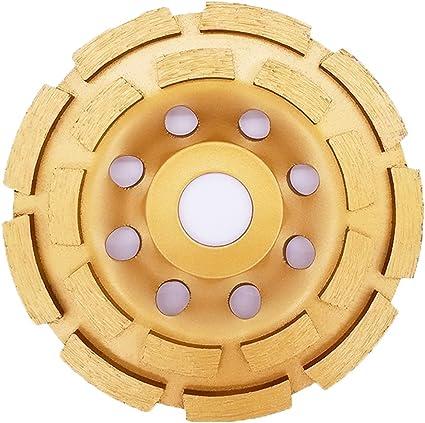 mattoni marmo granito amianto S/&R Disco diamantato 125 Mola a tazza diamante 125 x 22,2 UNIVERSALE: cemento calcestruzzo pietra pomice Qualit/à professionale gesso