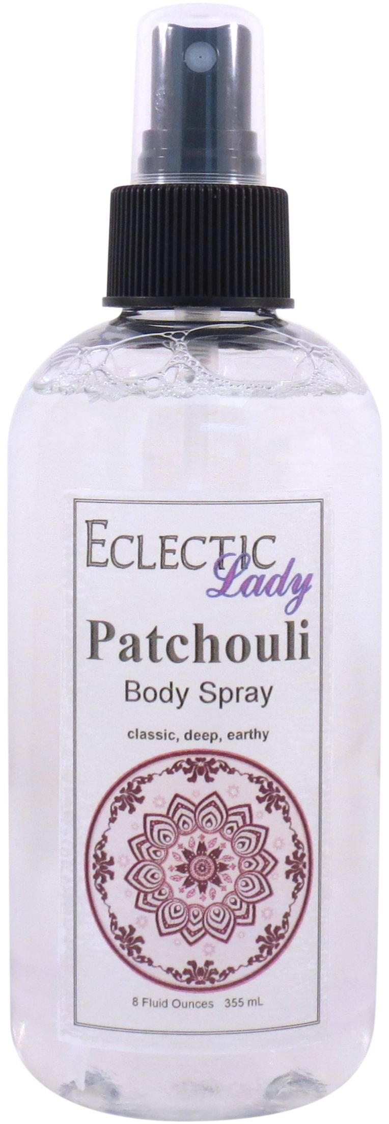 Patchouli Body Spray, 8 ounces