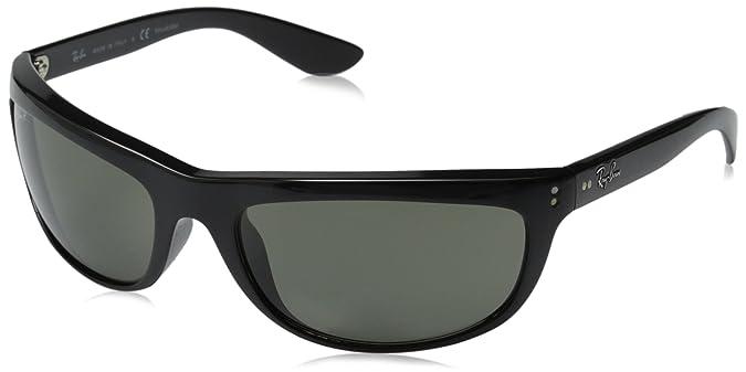 d94b40cfb9 Amazon.com  Ray-Ban Men s Balorama Polarized Oval Sunglasses