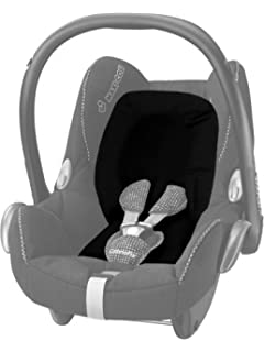 colore Black Raven Maxi Cosi inserto per Pebble//Baby Hugg Inlay For Pebble