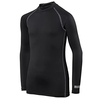 df8fd20f02 Rhino Childrens Boys Long Sleeve Thermal Underwear Base Layer Vest Top:  Amazon.co.uk: Clothing