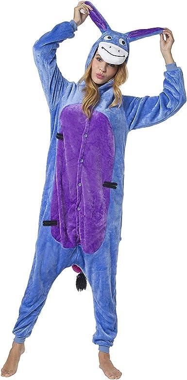 Pijamas Enteros Cosplay Adulto Ropa de Dormir Hombre Camisones Disfraces Carnaval Ropa Pijamas de Una Pieza Mujer Elfo