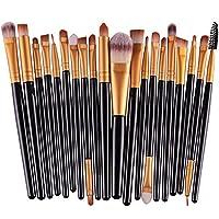 cosanter 20Stück pro Make-up Kosmetik Pinsel-Set Auge Shadow Pinsel Powder Foundation für Frauen Mädchen