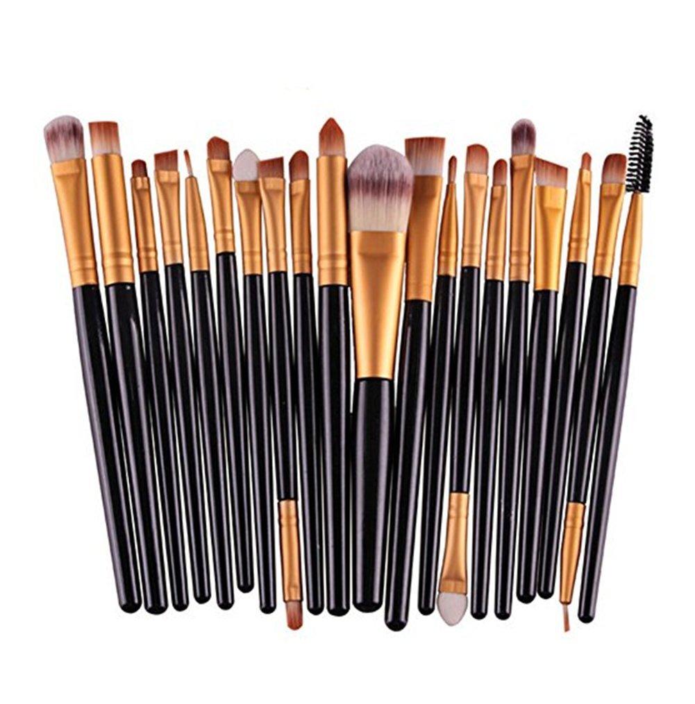 Demarkt 20 Pcs Makeup Brushes Set Professional Cosmetic Brush Set Tools Toiletry Kit DMT10228861551