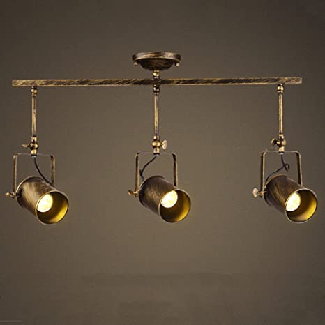 Motent Vintage Industrial Way Spotlight Pendant Light Dia - Kitchen spot light fittings