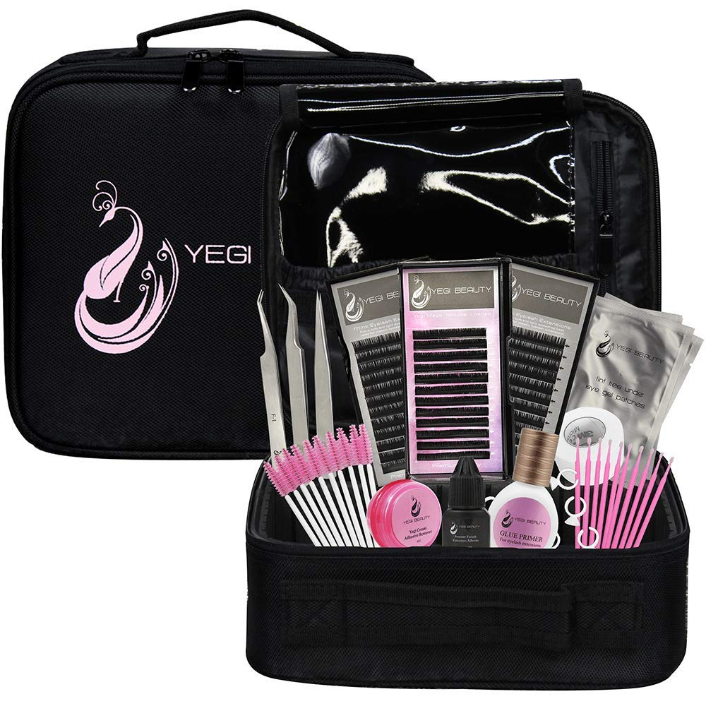 Starter kits for Classic & Volume Eyelash Extensions by Yegi Beauty