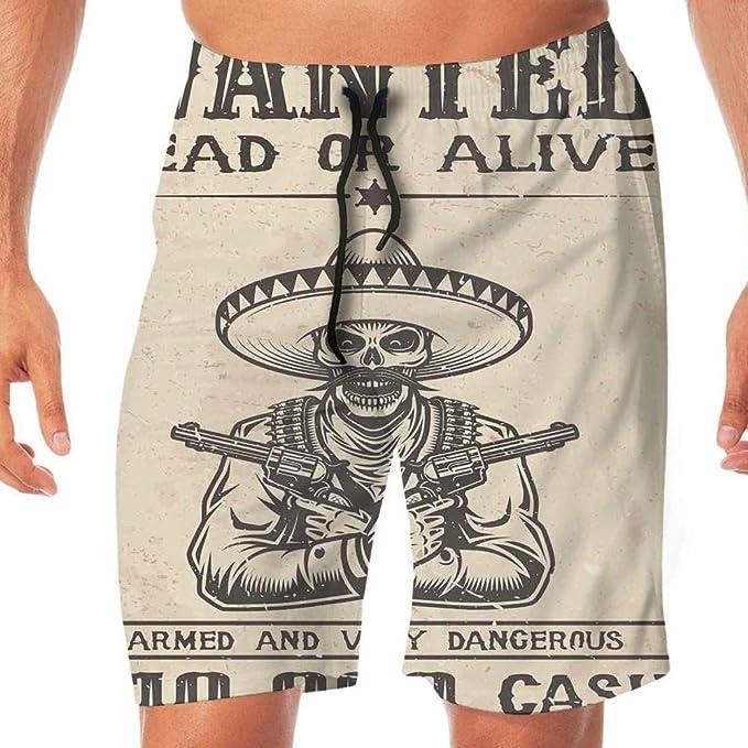 Dazlinea Mens Swimwear Quick Dry Surfing Sports Beach Camouflage Shorts Elastic Waist Trunks Board Pants