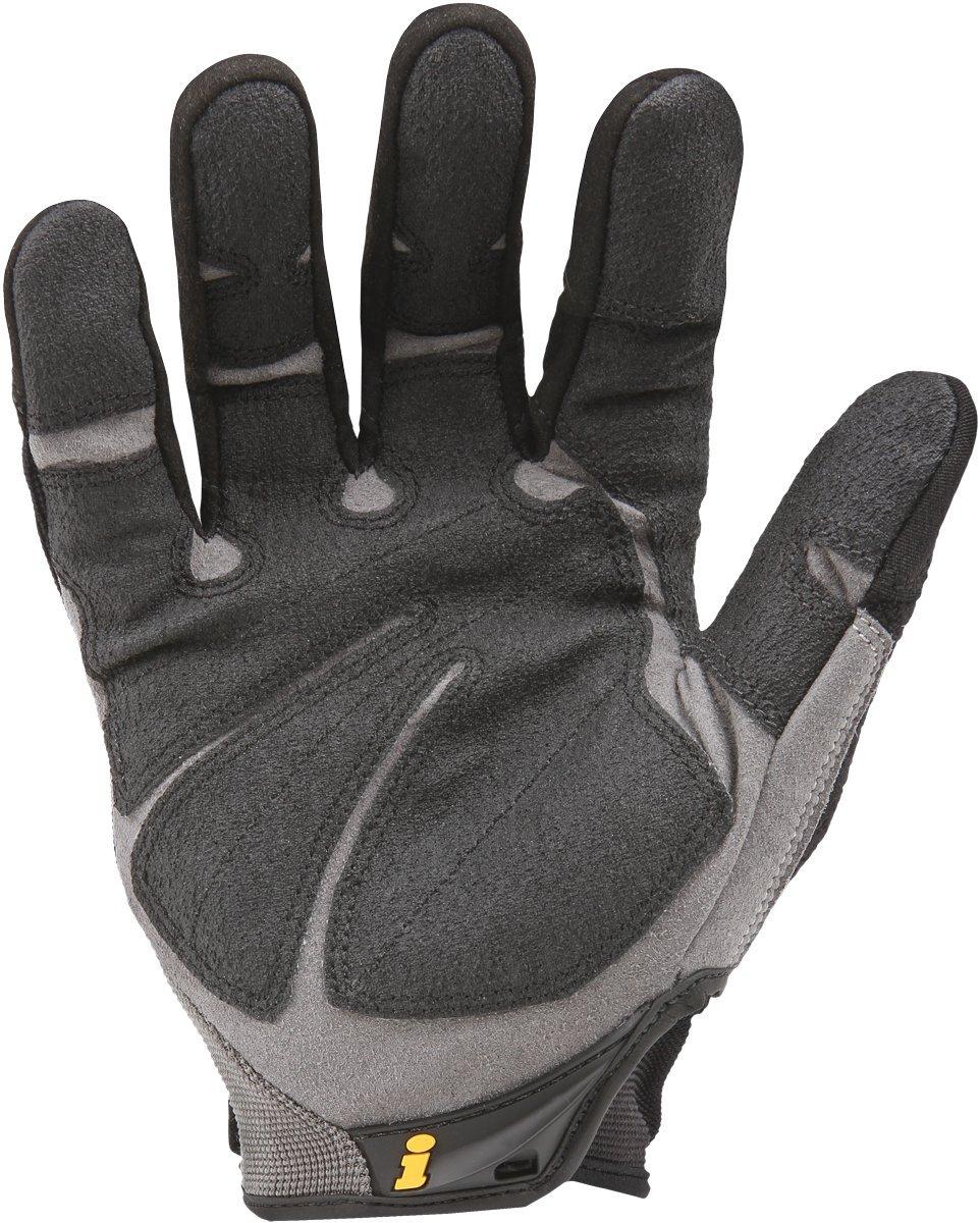 Black leather work gloves nsn - Ironclad Heavy Utility Gloves Hug 04 L Large Work Gloves Amazon Com