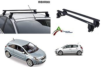 Sistema di Montaggio con Barre Kit di Attacco SPECIFICO per Auto Barre PORTATUTTO Portapacchi da Tetto per Auto Senza RAILINGS