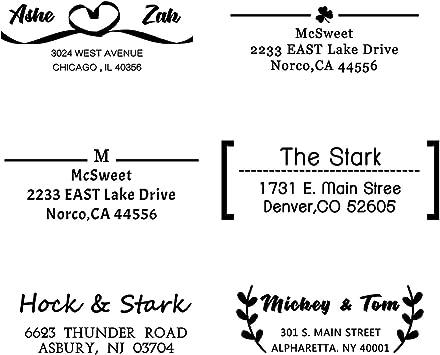 Custom Address Stamp Return Address Stamp Wedding Stamp Personalized Address Stamp Custom Stamp
