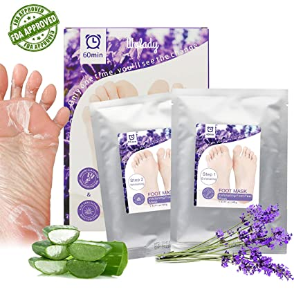 Calcetines exfoliantes Wolady Mascarilla Pies,Exfoliante Pies Máscara,Máscara Para Pies,Foot Mask