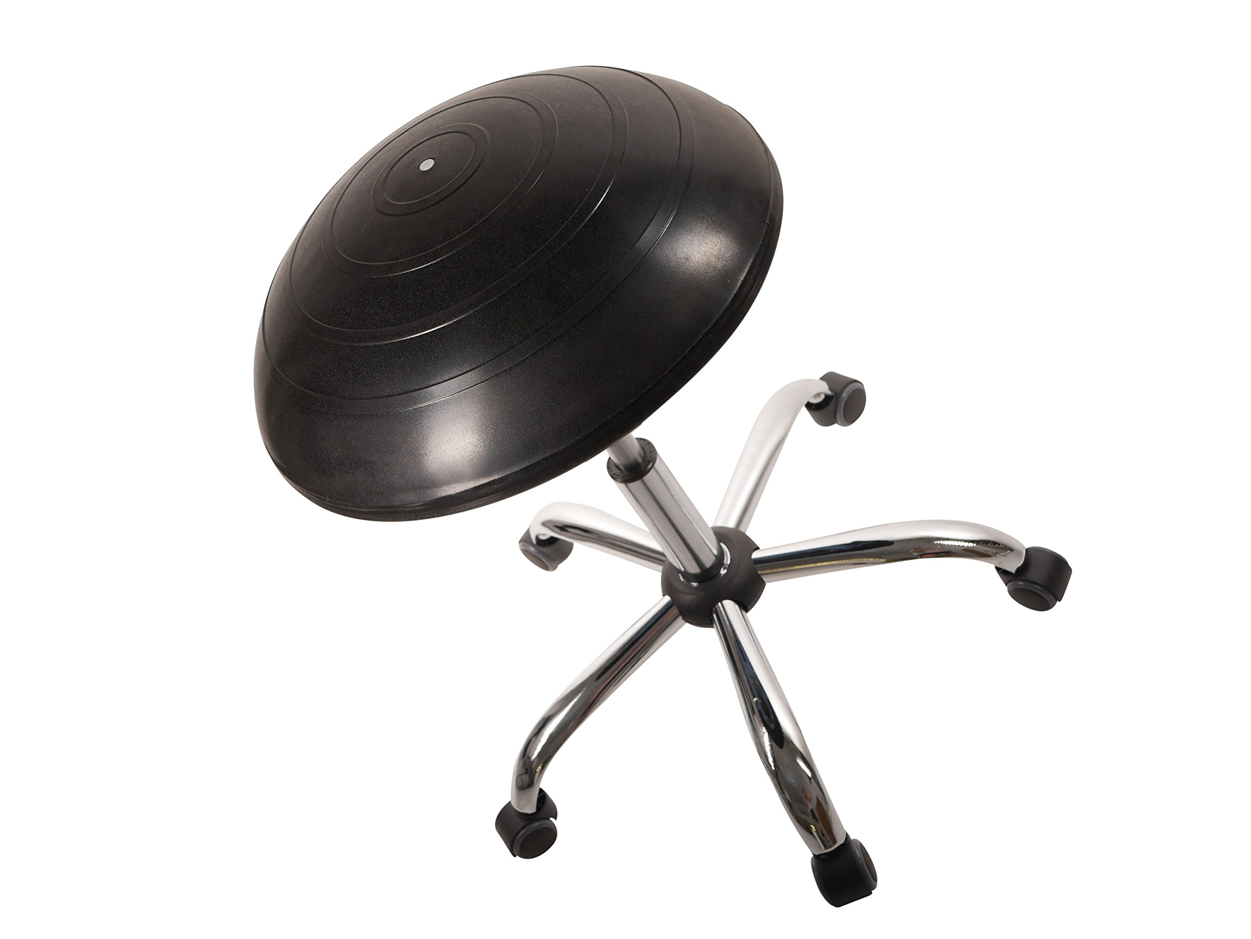 Balance Ball Office Chair Stool, Jellyfish Adjustable Chair by Coreseat | Ergonomic Exercise Office Chair that Provides Stability and Core Strength for the Home, Office or Classroom