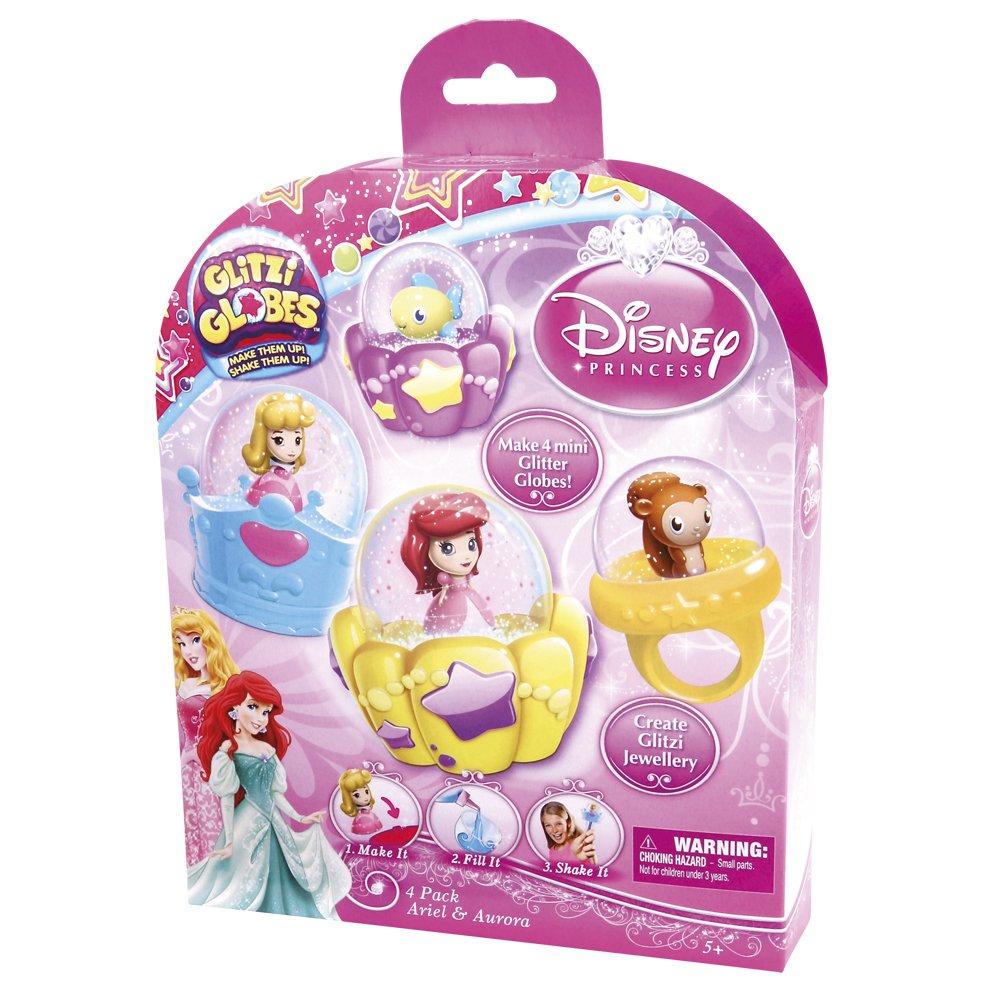 Glitzi Globes El castillo de las Princesas Ariel y Aurora Giochi Preziosi