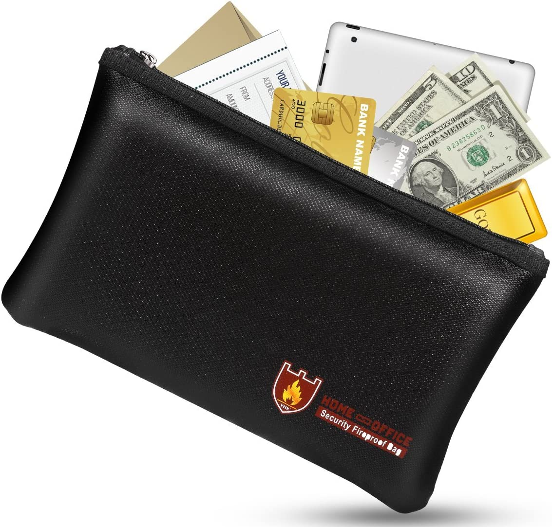 Bruce Fireproof Money Safe Document Bag