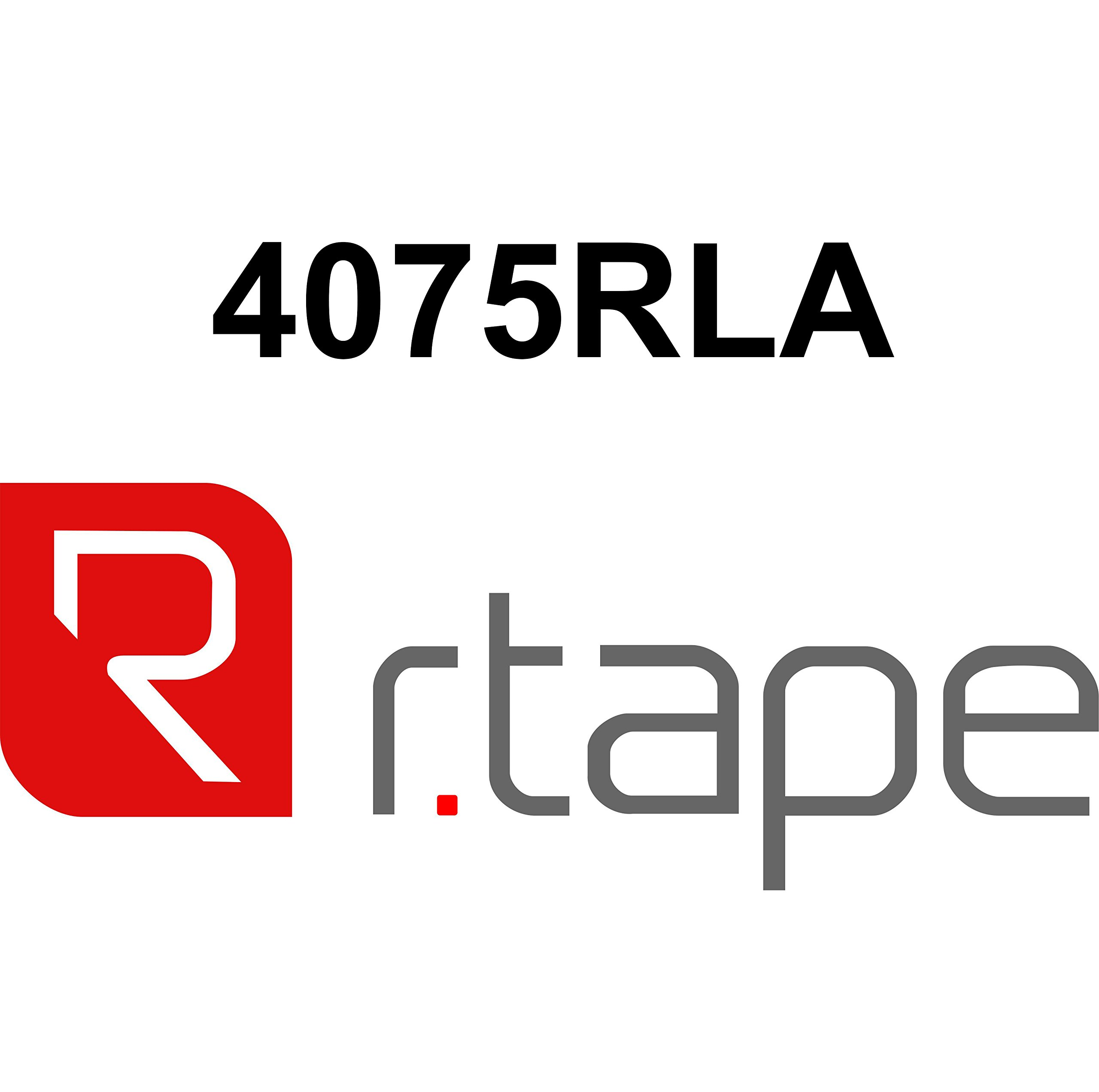 R-TAPE CONFORM 4075RLA 100YDS Lenght, for sign makers (6.5) by R Tape