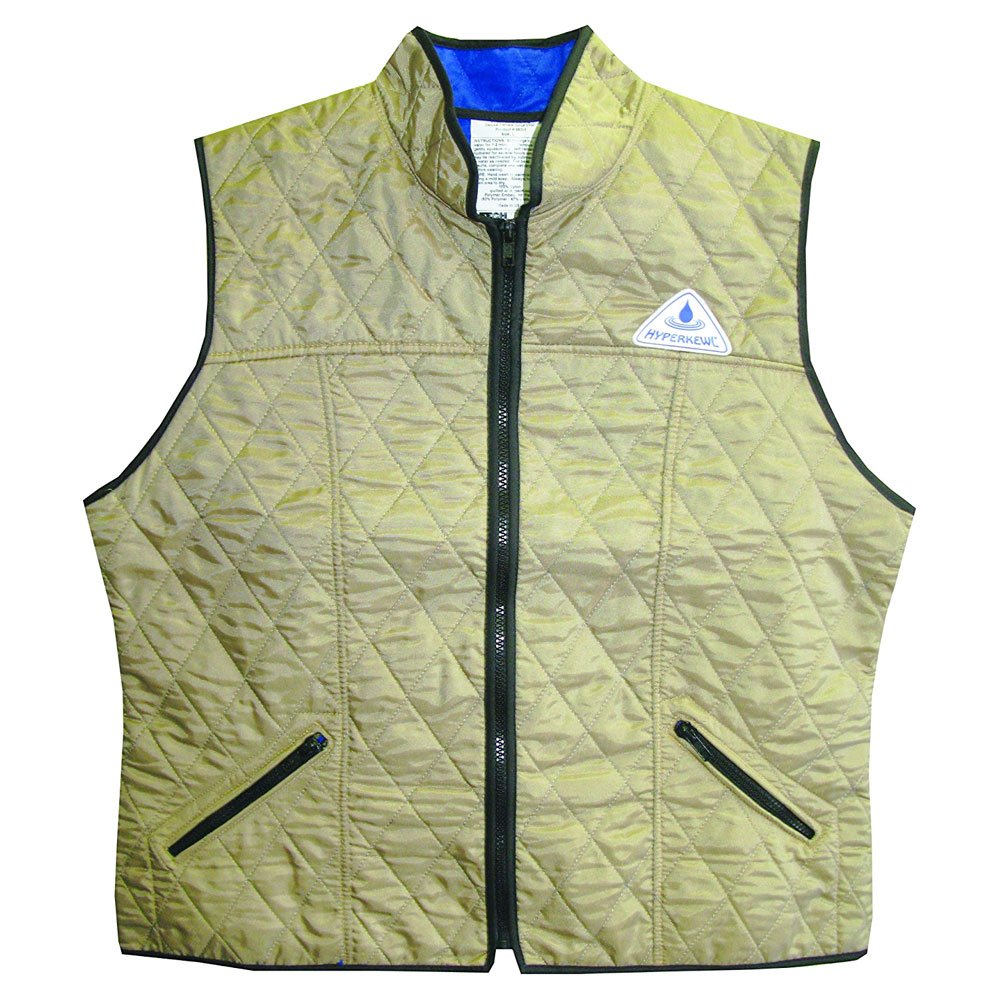 Techniche Ladies Deluxe Sport Vest - Khaki Khaki M Adult Female