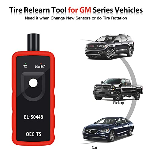 For the occasional use, most EL-50448 TPMS tools get, though, it's durable and reliable.