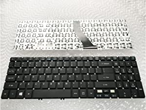 Replacement Keyboard Without Frame For Acer Aspire V5-571 V5-571G V5-571P V5-571PG V5-571-6726 V5-571-6830 V5-571-6467 MS2361, US Layout Black Color