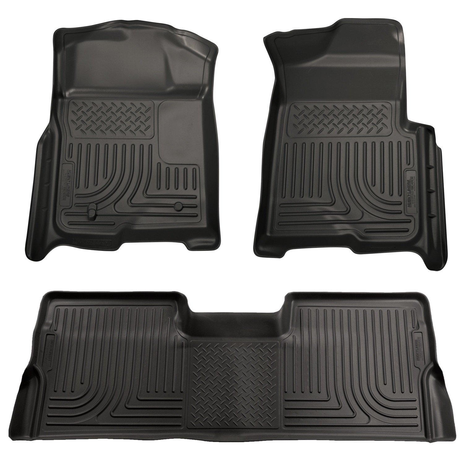 Weathertech mats walmart - Amazon Com Husky Liners Front 2nd Seat Floor Liners Fits 09 14 F150 Supercrew Automotive