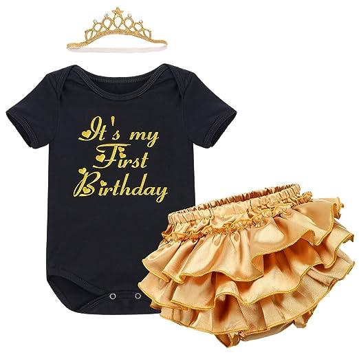 a2bd892d687 Amazon.com  Newborn Baby Girl It s My 1st Birthday Cake Smash Crown ...