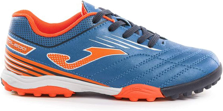 Joma Boots BOY Soccer Toledo JR Turf 904 Royal Calcetto Scarpa