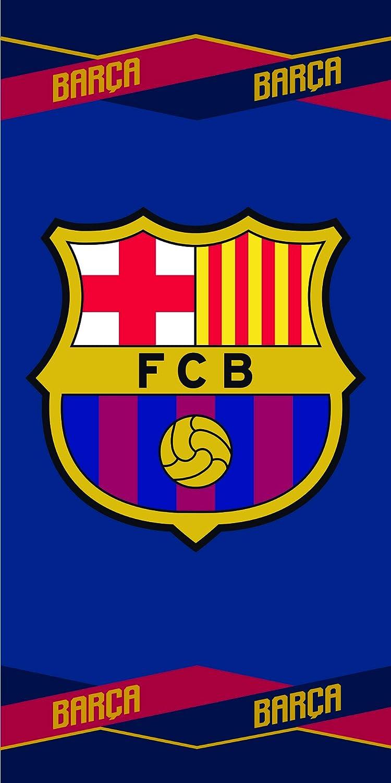 FCB FC Barcelona Toalla Color azulgrana 70 x 140 cm Skybrands A//S 5710756027491