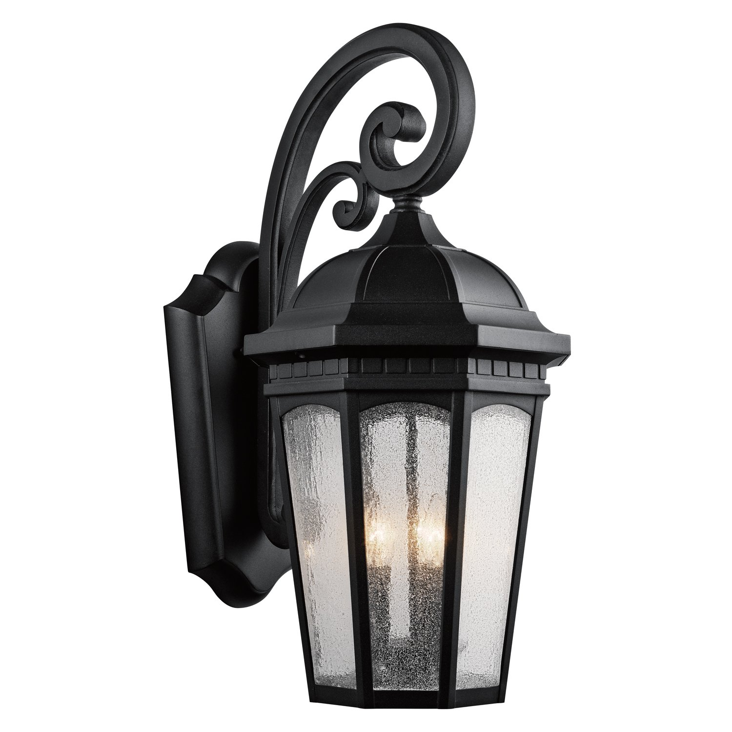 Kichler 9035BKT Three Light Outdoor Wall Mount