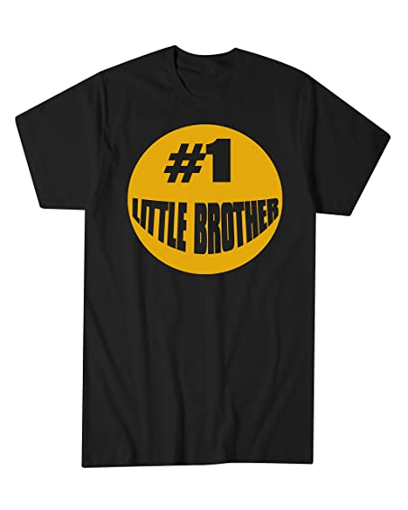 Hot Ass Tees Adult Unisex 1 Little Brother Gift For