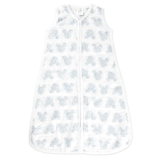 Aden by aden + anais - Saco de dormir de verano, 1 tog, diseño de Mickey Mouse (18+ meses): Amazon.es: Bebé