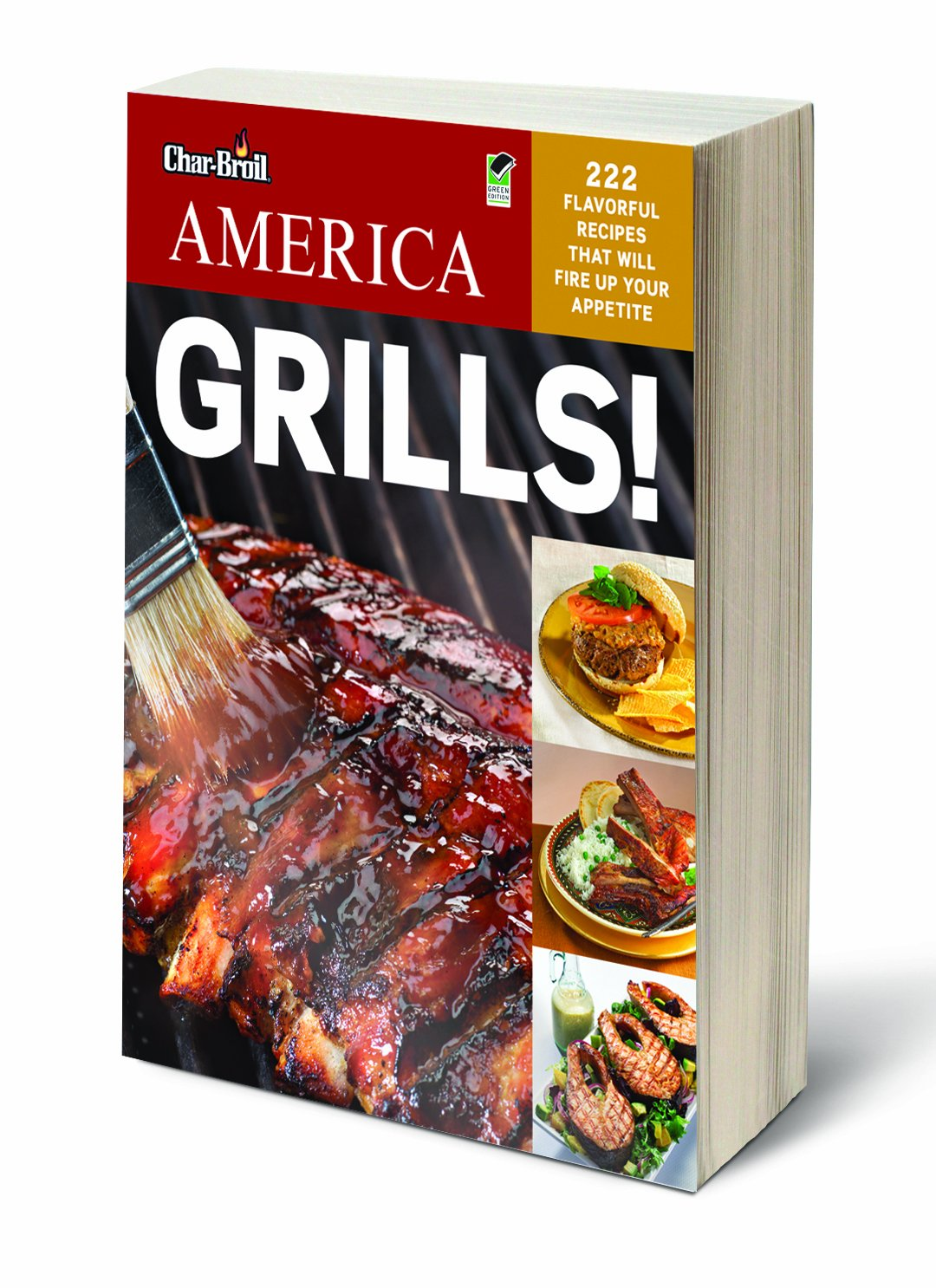 Char-Broil 3466885 America Grill Cookbook Charbroil