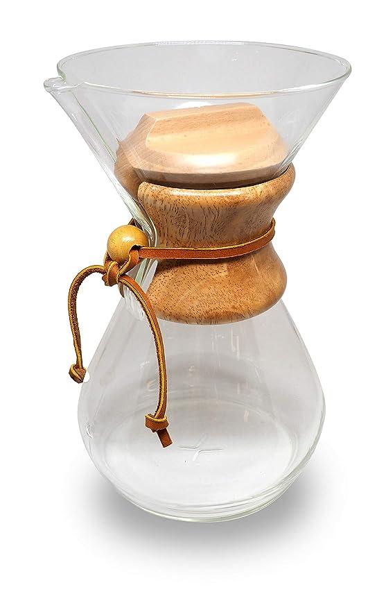 Tapa de madera para cafetera Chemex 8 tazas - saturno ...
