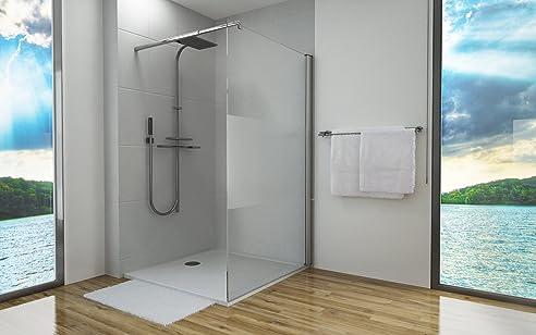 duschtrennwand 8mm glas esg sicherheitsglas nano versiegelt walk in glas duschabtrennung dusche 140x200cm - Glaswand Dusche Walk In