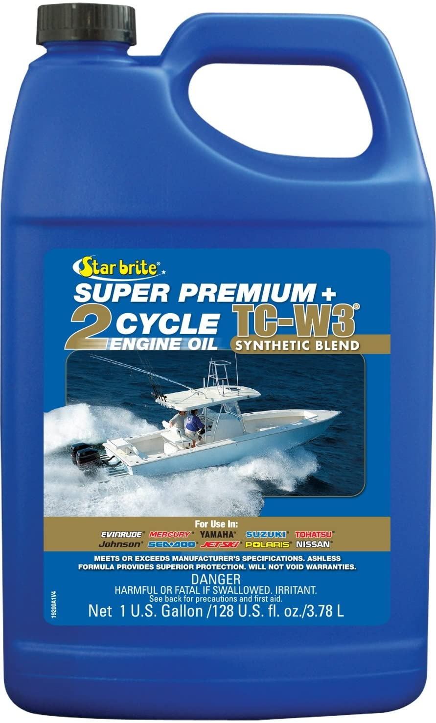 Star brite Super Premium 2-Cycle Engine Oil TC-W3